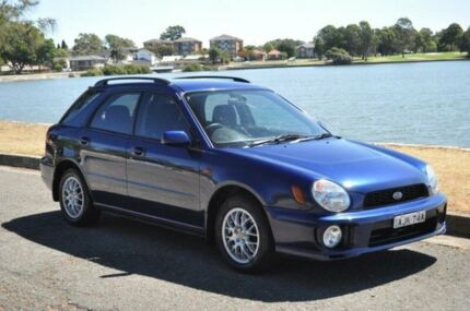 2000 Subaru Impreza MY00 GX (AWD) Blue 5 Speed Manual Hatchback