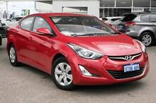 2014 Hyundai Elantra MD3 Active Red 6 Speed Sports Automatic Sedan Osborne Park Stirling Area Preview