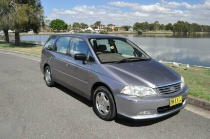 2001 Honda Odyssey (7 Seat) Grey 4 Speed Sequential Auto Wagon
