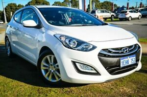 2013 Hyundai i30 GD SE Coupe White 6 Speed Manual Hatchback Wangara Wanneroo Area Preview