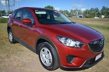 2012 Mazda CX-5 KE1071 Maxx SKYACTIV-Drive AWD Red 6 Speed Sports Automatic Wagon Vincent Townsville City Preview