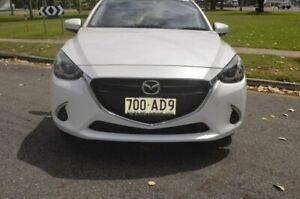 2017 Mazda 2 DJ2HAA Genki SKYACTIV-Drive White 6 Speed Sports Automatic Hatchback Rockhampton Rockhampton City Preview