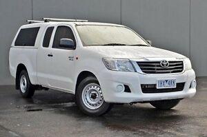 2013 Toyota Hilux White Automatic Utility Cranbourne Casey Area Preview
