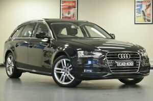 2015 Audi A4 B8 8K MY15 S Line Black Wagon Chatswood Willoughby Area Preview