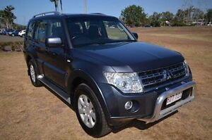 2010 Mitsubishi Pajero NT MY10 Activ Blue 5 Speed Sports Automatic Wagon Vincent Townsville City Preview