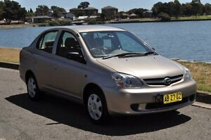 2004 Toyota Echo NCP12R Champagne 4 Speed Automatic Sedan Croydon Burwood Area Preview