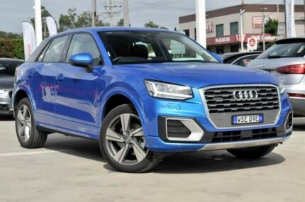 2016 Audi Q2 GA MY17 Sport S tronic quattro Blue 7 Speed Sports Automatic Dual Clutch Wagon Gosford Gosford Area Preview