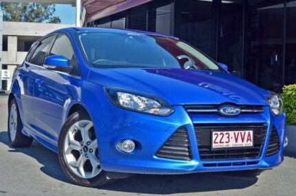 2014 Ford Focus LW MKII MY14 Sport PwrShift Blue 6 Speed Sports Automatic Dual Clutch Hatchback Aspley Brisbane North East Preview