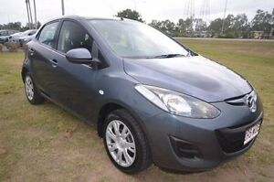 2011 Mazda 2 DE10Y1 MY10 Neo Grey 5 Speed Manual Hatchback Vincent Townsville City Preview