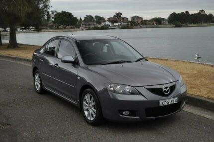 2007 Mazda 3 BK MY06 Upgrade Maxx Sport Charcoal 4 Speed Auto Activematic Sedan
