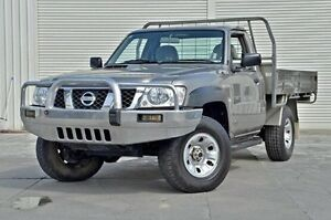 2008 Nissan Patrol GU 6 MY08 ST Gold 5 Speed Manual Cab Chassis Seaford Frankston Area Preview