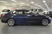2016 BMW 318i F30 LCI Luxury Line Blue 8 Speed Sports Automatic Sedan Chatswood Willoughby Area Preview