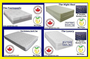 NEW Twin or Single Mattress or Boxspring* NO TAX Sale on Now!