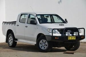 2009 Toyota Hilux KUN26R MY09 SR White 4 Speed Automatic Utility Blacktown Blacktown Area Preview