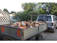 Seasoned firewood for sale £110.00 per trailer load