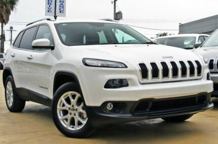 2015 Jeep Cherokee KL MY15 Longitude Bright White 9 Speed Auto Seq Sportshift Wagon Blacktown Blacktown Area Preview
