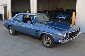 1974 Holden Monaro HJ GTS Blue 4 Speed Manual Sedan Brompton Charles Sturt Area Preview