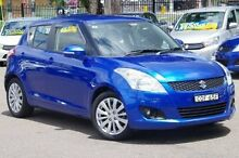 2013 Suzuki Swift FZ GLX Blue 4 Speed Automatic Hatchback Blacktown Blacktown Area Preview