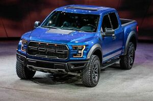 *BRAND NEW *2017 Ford F-150 RAPTOR in Blue & White colors