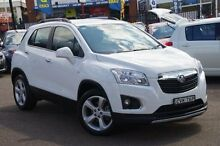 2014 Holden Trax TJ MY15 LTZ White 6 Speed Automatic Wagon Blacktown Blacktown Area Preview