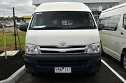 2011 Toyota Hiace TRH223R MY11 Commuter High Roof Super LWB French Vanilla 4 Speed Automatic Bus Preston Darebin Area Preview