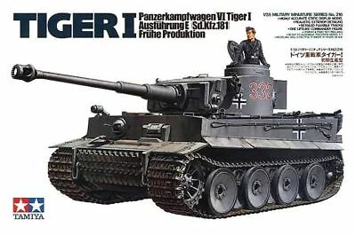 Tamiya German Tiger I Tank Early Production 1/35 Scale #35216