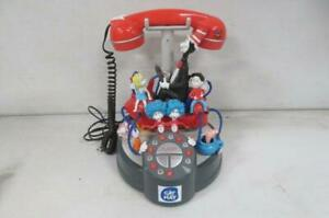 Vintage Dr Seuss CAt in the Hat 3d Corded Phone