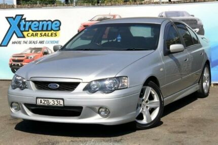 2004 Ford Falcon BA XR6 Silver 5 Speed Sports Automatic Sedan Campbelltown Campbelltown Area Preview