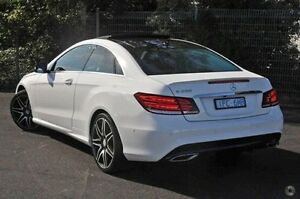 2015 Mercedes-Benz E250 White Sports Automatic Coupe Doncaster Manningham Area Preview