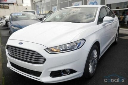 2015 Ford Mondeo MD Trend PwrShift Frozen White 6 Speed Sports Automatic Dual Clutch Hatchback Melville Melville Area Preview