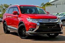 2015 Mitsubishi Outlander ZK MY16 LS 2WD Red 6 Speed Constant Variable Wagon Wilson Canning Area Preview