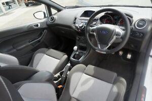 2016 Ford Fiesta WZ ST White 6 Speed Manual Hatchback