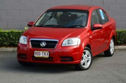 2011 Holden Barina TK MY11 Red 4 Speed Automatic Sedan Southport Gold Coast City Preview