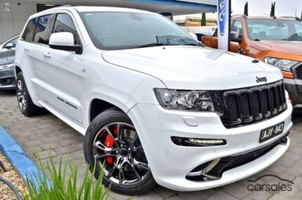 2012 Jeep Grand Cherokee WK MY2013 SRT-8 Alpine White 5 Speed Sports Automatic Wagon Dandenong Greater Dandenong Preview