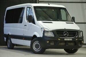 2012 Mercedes-Benz Sprinter NCV3 MY12 319CDI Low Roof MWB 7G-Tronic White 7 Speed Sports Automatic Mascot Rockdale Area Preview