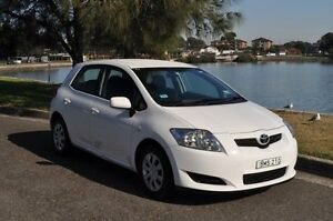 2007 Toyota Corolla ZZE122R MY06 Upgrade Ascent Seca White 4 Speed Automatic Hatchback Croydon Burwood Area Preview