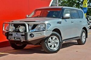 2014 Nissan Patrol Y62 ST-L Silver 7 Speed Sports Automatic Wagon Dandenong Greater Dandenong Preview