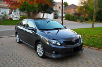 2009 Toyota Corolla Sport NO ACCIDENT WELL KEPT