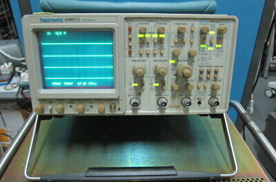 Tektronix 2465b 400mhz 4-channel Analog Oscilloscope With Accessory Pouch