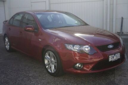 2011 Ford Falcon FG XR6 Red 6 Speed Sports Automatic Sedan Bundoora Banyule Area Preview