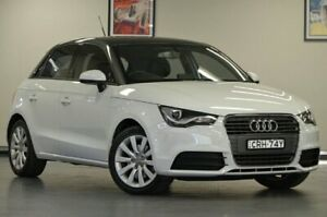 2013 Audi A1 8X MY14 Attraction Sportback White Semi Auto Hatchback Chatswood Willoughby Area Preview