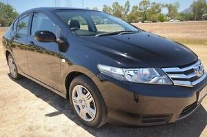 2012 Honda City GM MY12 VTi Black 5 Speed Automatic Sedan Vincent Townsville City Preview