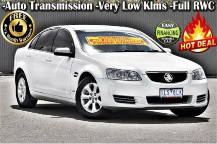 2012 Holden Commodore VE II MY12 Omega White 6 Speed Sports Automatic Sedan Ringwood East Maroondah Area Preview
