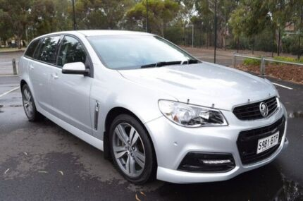 2013 Holden Commodore VF MY14 SV6 Sportwagon Silver 6 Speed Sports Automatic Wagon Brompton Charles Sturt Area Preview