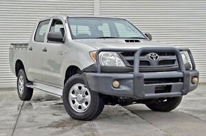2008 Toyota Hilux KUN26R MY08 SR Silver 4 Speed Automatic Utility Seaford Frankston Area Preview