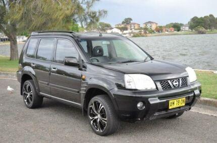 2002 Nissan X-Trail T30 TI (4x4) Black 4 Speed Automatic Wagon