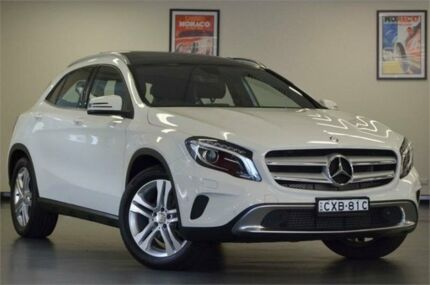 2015 Mercedes-Benz GLA 200 CDI X156 805+055MY DCT Cirrus White 7 Speed Sports Automatic Dual Clutch Chatswood Willoughby Area Preview