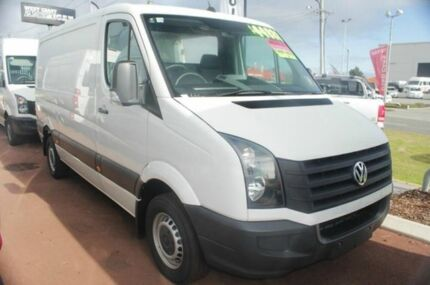2014 Volkswagen Crafter 2FF1 MY14 35 MWB TDI340 Candy White 6 Speed Manual Cab Chassis Cannington Canning Area Preview