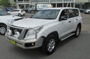 2013 Toyota Landcruiser Prado KDJ150R MY14 GX (4x4) White 5 Speed Sequential Auto Wagon