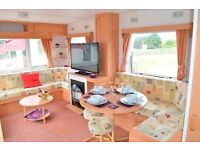 Beautiful Family Caravan in Southerness Holiday Village...Ideal Starter Caravan
